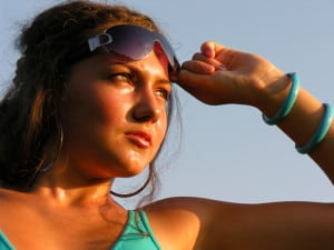 Sun can have serious, lasting aging effects on the skin