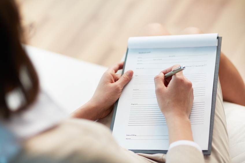 Reviewing an in-depth client intake form is key to a great consultation