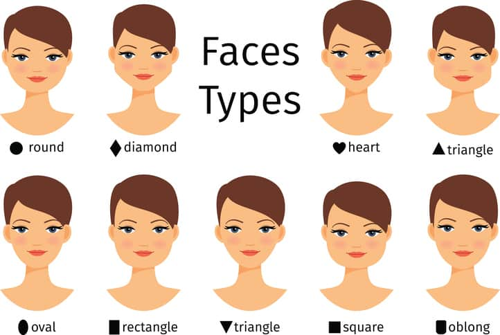 Attending Beauty College Here Are 3 Face Shapes The Eyebrows That