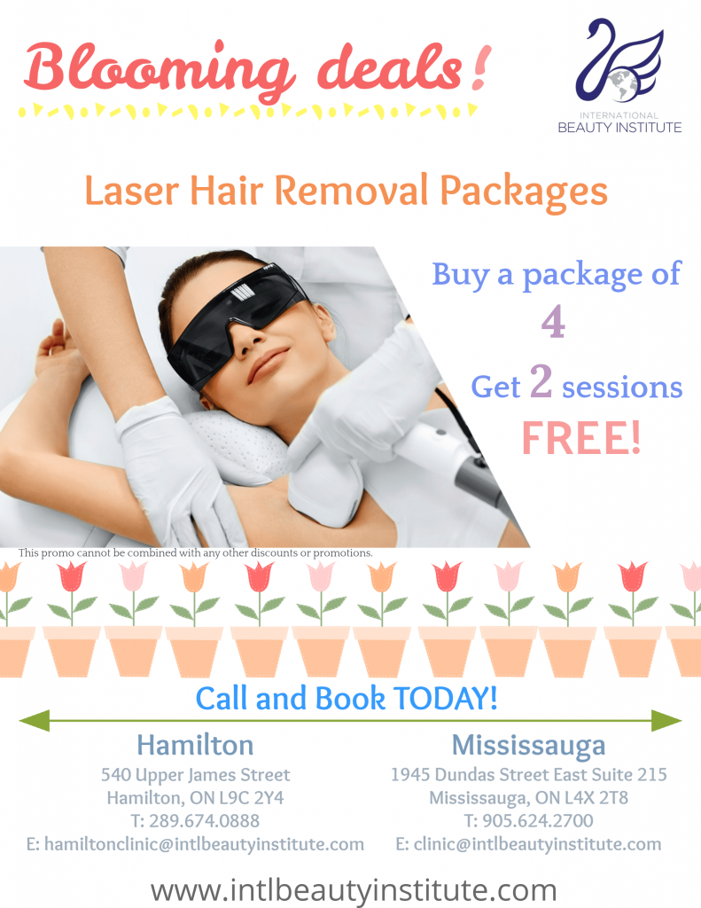 April monthly promotions at beauty school